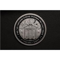 Back To The Future: Back to the Future Collectable Coin 25th Anniversary Clock Tower (silver plated)