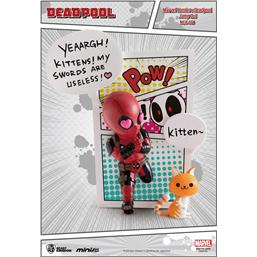 Deadpool: Marvel Comics Mini Egg Attack Figure Deadpool Jump Out 4th Wall 12 cm