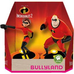 Incredibles: Incredibles 2 Gift Box with 2 Figures Hellen & Bob 9 cm