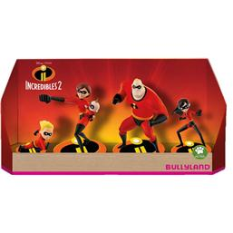 Incredibles: Incredibles 2 Gift Box with 4 Figures 4-9 cm