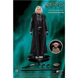 Harry Potter: Harry Potter MFM Action Figure 2-Pack 1/6 Lucius Malfoy & Dobby 15-30 cm