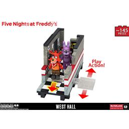 Five Nights at Freddy´s Medium Construction Set West Hall