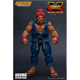 Street Fighter: Street Fighter V Arcade Edition Action Figure 1/12 Akuma Nostalgia Costume 18 cm