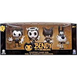 Bendy and the Ink Machine: Bendy and the Ink Machine PVC Figures 4-Pack Series 1 7 cm
