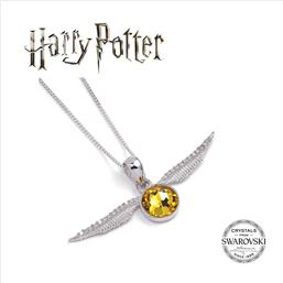 Harry Potter: Harry Potter x Swarovksi Necklace & Charm Golden Snitch