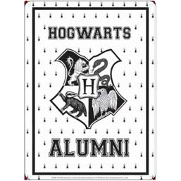 Harry Potter: Harry Potter Tin Sign Hogwarts Alumni 21 x 15 cm
