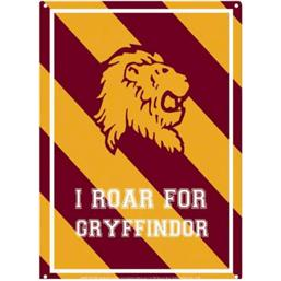 Harry Potter: Harry Potter Tin Sign Roar Gryffindor 21 x 15 cm
