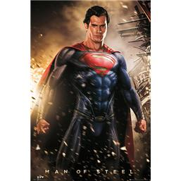 Superman: Man Of Steel - Explosion plakat