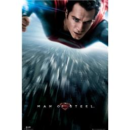 Man Of Steel - Flying plakat