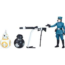 Rose (First Order Disguise) & BB-8 & BB-9E (Episode VIII) - Force Link 2.0 Action Figur 2-Pak