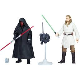 Darth Maul & Qui-Gon Jinn (Episode I) - Force Link 2.0 Action Figur 2-Pak