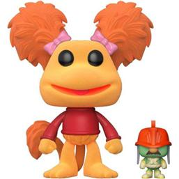 Fraggle Rock: Red with Doozer Flocked POP! Television Vinyl Figur (#519)