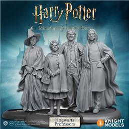 Harry Potter: Harry Potter Miniatures 35 mm 4-pack Hogwarts Professors