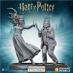 Harry Potter: Harry Potter Miniatures 35 mm 2-pack Bellatrix & Wormtail