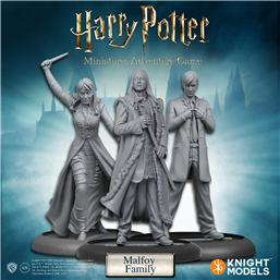 Harry Potter: Harry Potter Miniatures 35 mm 3-pack Malfoy Family