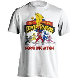 Power Rangers: Power Rangers T-Shirt Morph Into Action