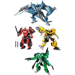 Transformers The Last Knight Premier Edition Deluxe Action Figures 13 cm 2017 Wave 3 4-pack