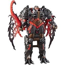 Transformers: Transformers The Last Knight Turbo Changer Action Figure Dragonstorm 22 cm