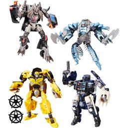 Transformers: Transformers The Last Knight Premier Edition Deluxe Action Figures 13 cm 2017 Wave 1 4-pack