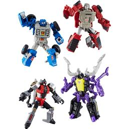 Transformers Generations Power of the Primes Action Figures Legends Class 2018 Wave 1 4-pack