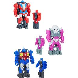 Transformers Generations Power of the Primes Action Figures Prime Master 2018 Wave 1 3-pack