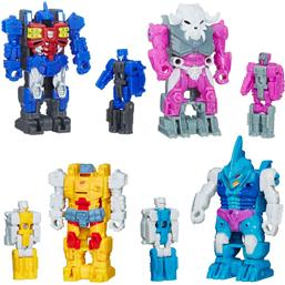 Transformers Generations Power of the Primes Action Figures Prime Master 2018 Wave 2 4-pack