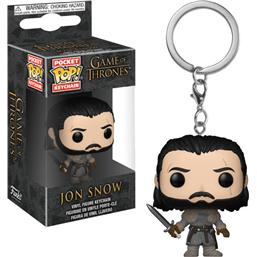 Game Of Thrones: Jon Snow med Sværd Pocket POP! Nøglering