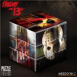 Friday The 13th: Friday the 13th Puzzle Blox Puzzle Cube Jason Voorhees 9 cm