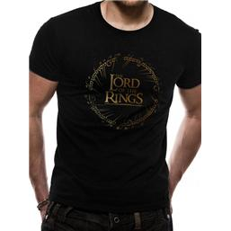 Lord of the Rings T-Shirt Gold Logo