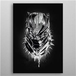 Black Panther: Marvel Metal Poster Black Panther Panther's Rage 32 x 45 cm