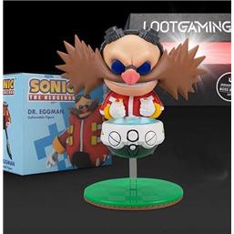 Sonic The Hedgehog: Sonic Figure Dr. Eggman Lootcrate Exclusive 10 cm