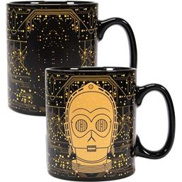 Star Wars: Star Wars Heat Change Mug C-3PO