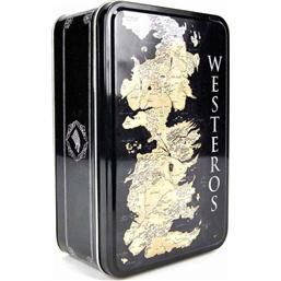 Game of Thrones Tin Lunch Box Map