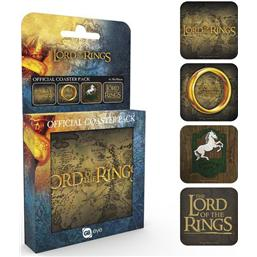 Lord Of The Rings: Lord of the Rings Bordskåner 4-pak