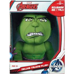 Marvel: Marvel Deluxe Talking Plush Figure Hulk 38 cm *English Version*