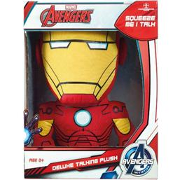 Iron Man: Marvel Deluxe Talking Plush Figure Iron Man 38 cm *English Version*