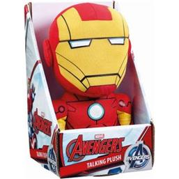 Iron Man: Marvel Talking Plush Figure Iron Man 23 cm *English Version*