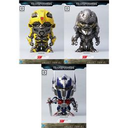 Transformers: Transformers The Last Knight Super Deformed Vinyl Figures 10 cm 3-Pack