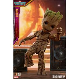 Guardians of the Galaxy: Guardians of the Galaxy Vol. 2 Life-Size Masterpiece Actionfigur Groot Slim Version 26 cm