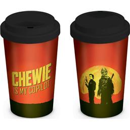 Star Wars Solo Travel Mug Chewie is my Copilot