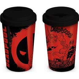 Deadpool: Deadpool Travel Mug Unicorn