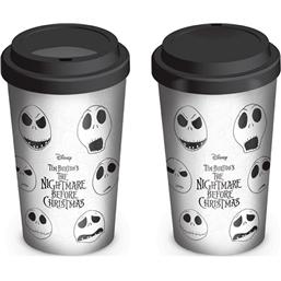 Nightmare Before Christmas: Faces of Jack Travel Mug
