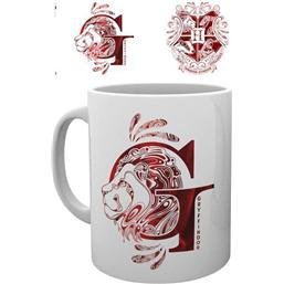 Harry Potter: Harry Potter Mug Gryffindor Monogram