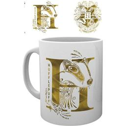 Harry Potter Mug Hufflepuff Monogram