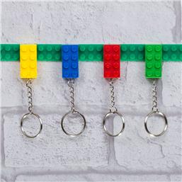 Lego: Keychain 4-Pack Key Bricks