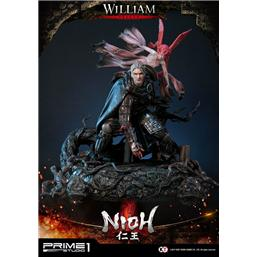 Nioh: Nioh Statue 1/4 William Deluxe Ver. 61 cm