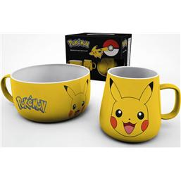 Pokémon Breakfast Set Pikachu
