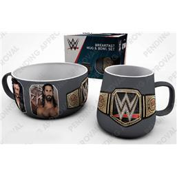 WWE: WWE Breakfast Set Superstars