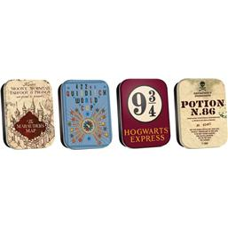 Harry Potter: Harry Potter Timeless Tins 4-Pack Map