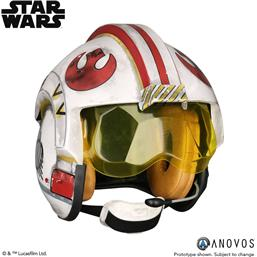 Star Wars: Star Wars Replica 1/1 Luke Skywalker Rebel Pilot Helmet Accessory Ver.